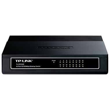 TP-LINK TL-SF1016D Desktop Switch, 16-Ports