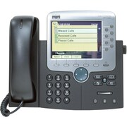 Cisco Unified 7970G Wall Mountable IP Phone, Dark Gray/Silver