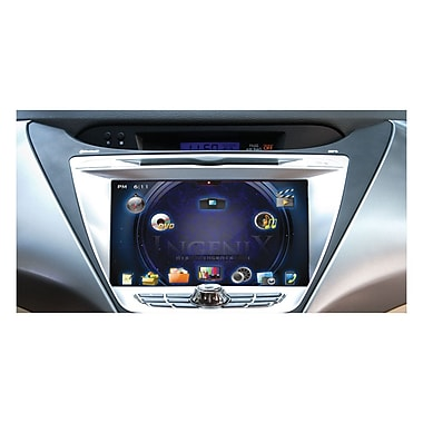 Power Acoustik P-85ELTR Automobile Audio/Video GPS Navigation System 8in. Screen