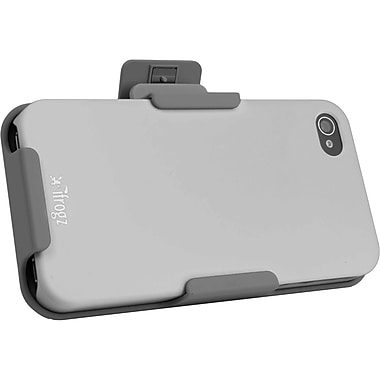 Ifrogz IP4CS Clip Stand Case, Light Gray