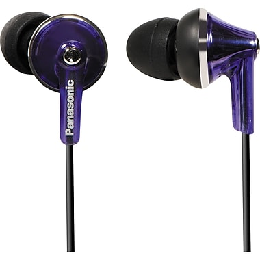 Panasonic RP-HJE190-V Fashion Earbud Earphone, Violet