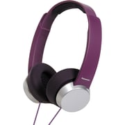 Panasonic RP-HXD3W-V Monitor Headphone, Purple/Silver