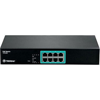 TRENDnet® Unmanaged Ethernet Switch, 8 Ports (TPE-S80)