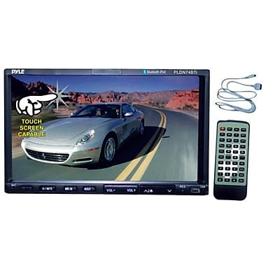 Pyle PLDN74BTI Touchscreen Multimedia Head Unit, with 7in. TFT Monitor