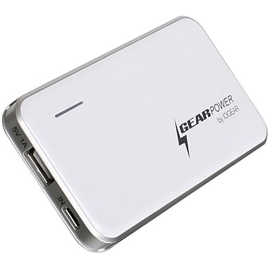 Iogear GMP2K Mobile Power Station For Smartphones and USB Devices, White