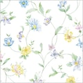 Shamrock 20in. x 30in. Wild Fowers Printed Tissue Paper, Yellow/Green/Blue/White