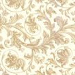 Shamrock 20in. x 30in. Elegance Printed Tissue Paper, White/Gold