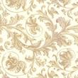 "Shamrock 20"" x 30"" Elegance Printed Tissue Paper, White/Gold"