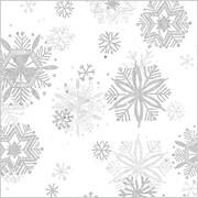 "Shamrock 20"" x 30"" Diamond Snowflakes Printed Tissue Paper"