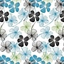 Shamrock 20 x 30 Floral Lines Printed Tissue