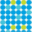 Shamrock 20in. x 30in. Simply Dots Printed Tissue Paper, Blue/Green