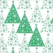 Shamrock 20in. x 30in. Green Trees & Stars Printed Tissue Paper, White/Green