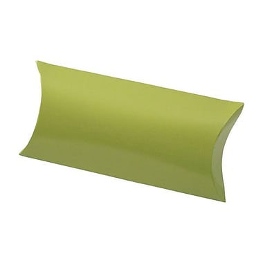 Shamrock 7in. x 3in. Gift Card Pillow, Metallic Leaf Green