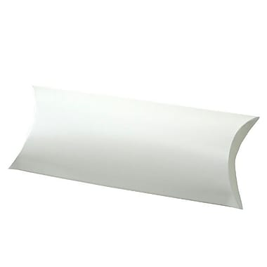 Shamrock 12 1/4in. x 4 5/8in. Gift Certificate Pillow, White