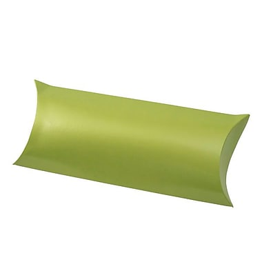 Shamrock 12 1/4in. x 4 5/8in. Gift Certificate Pillow, Metallic Leaf Green