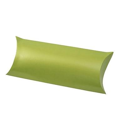 Shamrock 12 1/4in. x 4 5/8in. Gift Certificate Pillow, Metallic Leaf Green