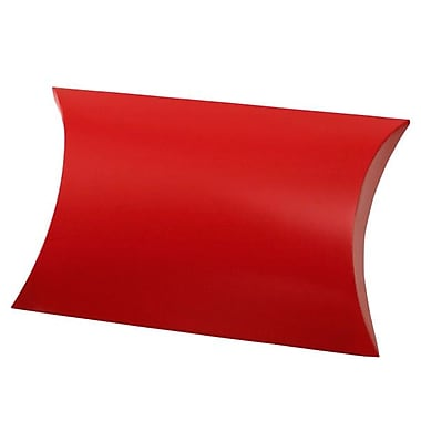 Shamrock 10 3/8in. x 6in. Gift Pillow, Red