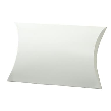 Shamrock 10 3/8in. x 6in. Gift Pillow, White