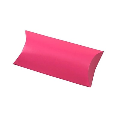 Shamrock 7in. x 3in. Gift Card Pillow, Hot Pink