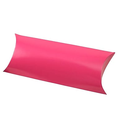 Shamrock 12 1/4in. x 4 5/8in. Gift Certificate Pillow, Hot Pink