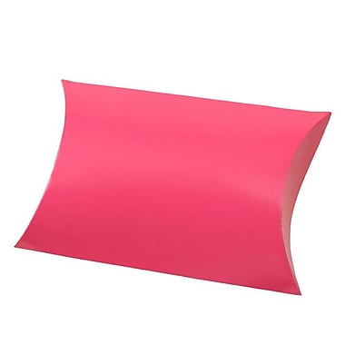 Shamrock 10 3/8in. x 6in. Gift Pillow, Hot Pink