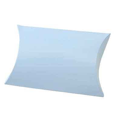 Shamrock 10 3/8in. x 6in. Gift Pillow, Blue