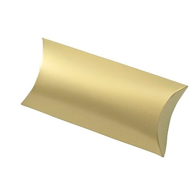 Shamrock 7in. x 3in. Gift Card Pillow, Gold