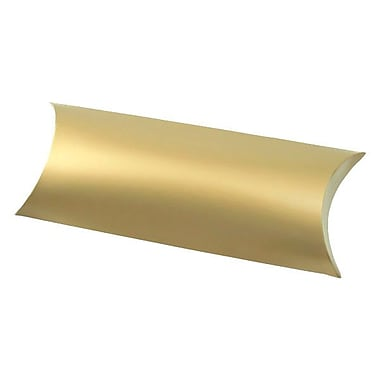 Shamrock 12 1/4in. x 4 5/8in. Gift Certificate Pillow, Gold