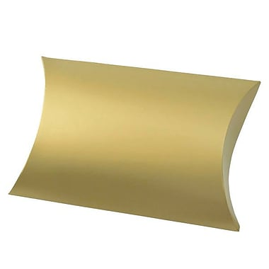 Shamrock 10 3/8in. x 6in. Gift Pillow, Gold