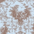 Shamrock 20in. x 30in. Toile Nouvelle Printed Tissue Paper, Brown/Blue
