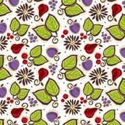 Shamrock 20 x 30 Fresh Fruit Printed Tissue Paper, White/Green/Red