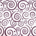 Shamrock 20in. x 30in. Swirls Printed Tissue Paper, Hyacinth