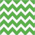 Shamrock 20in. x 30in. Bold Chevron Printed Tissue Paper, Apple Green