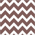 Shamrock 20in. x 30in. Bold Chevron Printed Tissue Paper, Chocolate