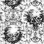 Shamrock 20 x 30 Traditional Toile Printed Tissue