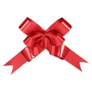 Shamrock Bow Magic® Splendorette® Butterfly 6 3/4(dia) Pull Bow With 74 Band Ribbon, Red