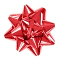 Shamrock 4 1/4in. x 16 Loops Glitter Star Bows, Red