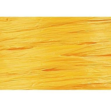 Shamrock Wraphia® 100 yds. Matte Rayon Ribbon, Daffodil