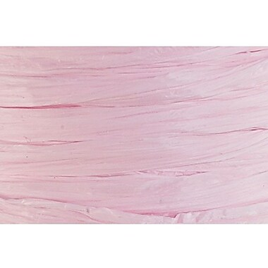 Shamrock Wraphia® 100 yds. Matte Rayon Ribbon, Pink