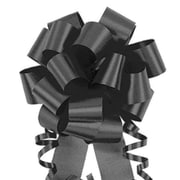 Shamrock 4 x 18 Loops Flora-Satin®  Perfect Bows, Black