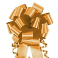 Shamrock 4in. x 18 Loops Flora-Satin®  Perfect Bows, Holiday Gold