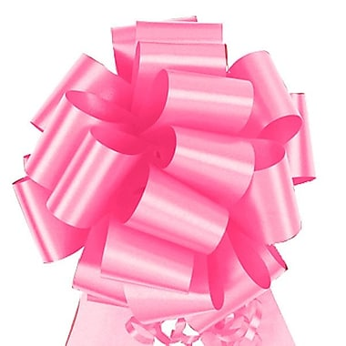 Shamrock 5 1/2in. x 20 Loops Flora-Satin®  Perfect Bows, Azalea