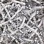 Shamrock Crinkle Cut™ Shred, White/Silver