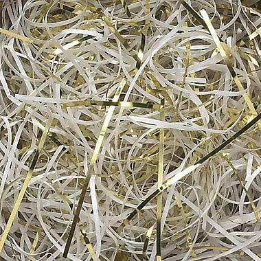 Shamrock Veryfine Cut™ Shred, White/Gold