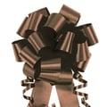 Shamrock 4in. x 18 Loops Flora-Satin®  Perfect Bows, Chocolate