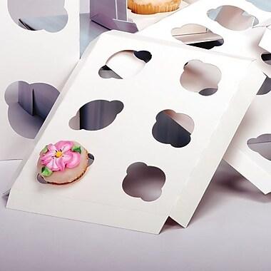 Shamrock 7in. x 7in. x 1/2in. Cupcake Inserts, 6 Minis