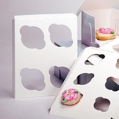 Shamrock 9in. x 7in. x 1/2in. Cupcake Inserts, 4 Standard