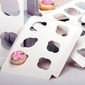 Shamrock 9in. x 7in. x 1/2in. Cupcake Inserts, 6 Minis