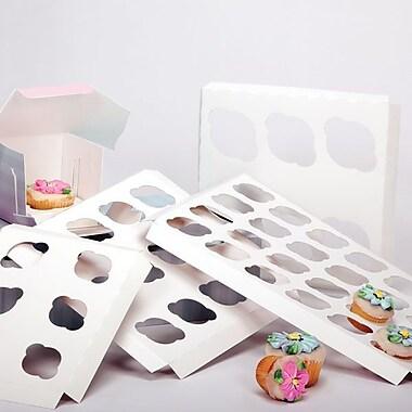 Shamrock 10in. x 10in. x 1/2in. Cupcake Inserts, 6 Standard
