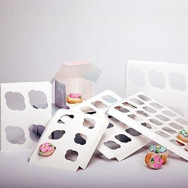 Shamrock 14in. x 10in. x 1/2in. Cupcake Inserts, 12 Standard